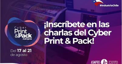 ¡Inscríbete en las charlas del Cyber Print & Pack!