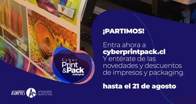 Comenzó el Cyber Print Pack