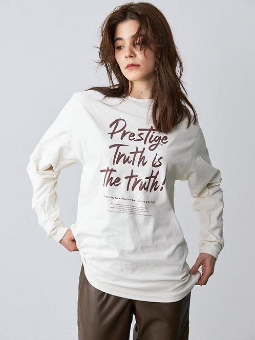 """""""Prestige"""" L/S tee"""