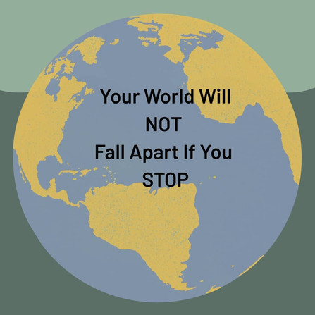 The world will not fall