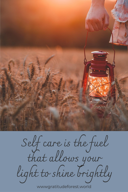 Self care is the fuel that allows your l