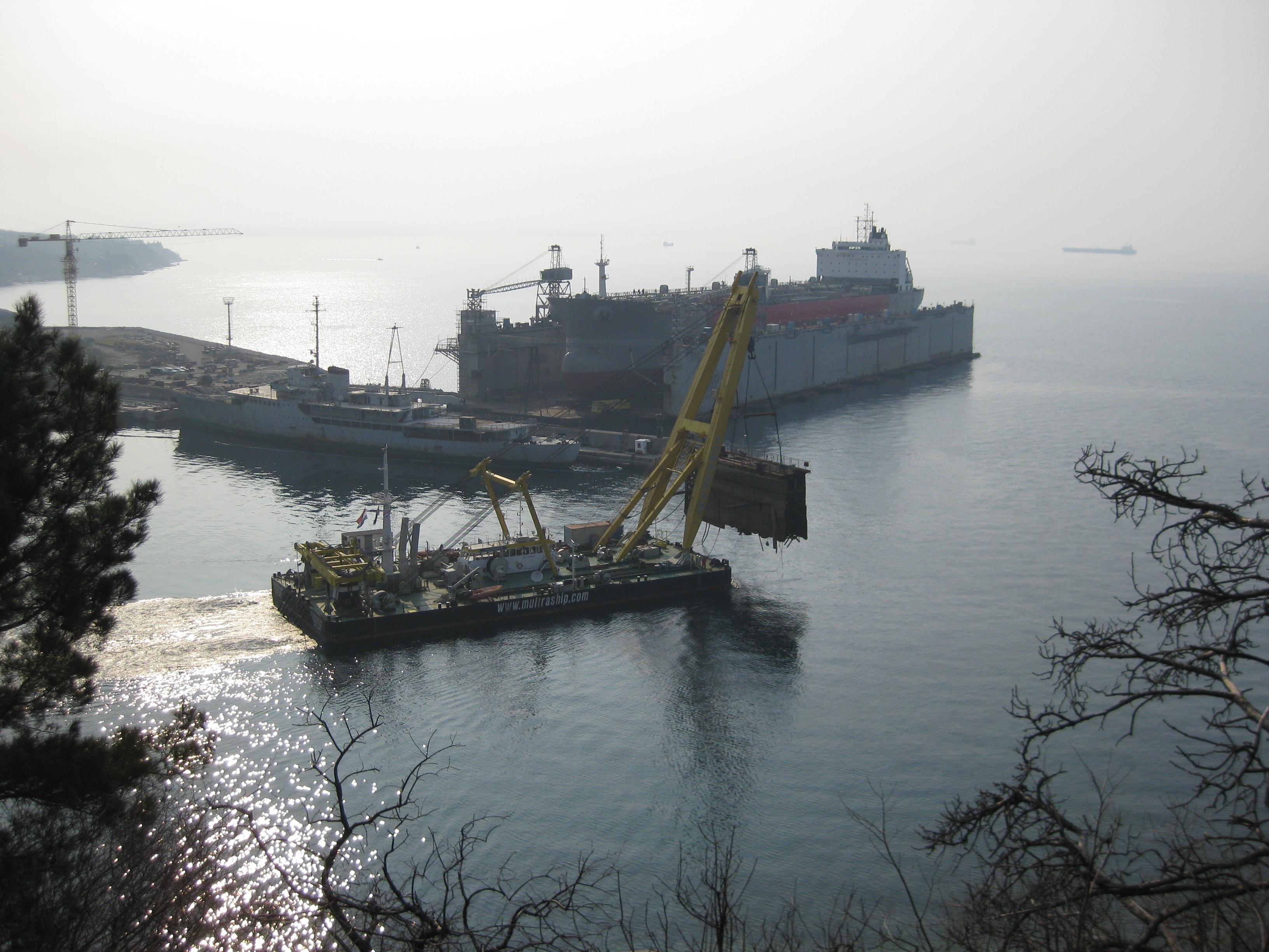 Drydock salvage Reijka