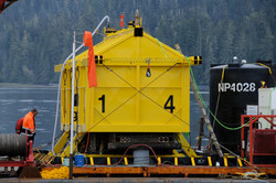 Robson bight Fuel truck recovery