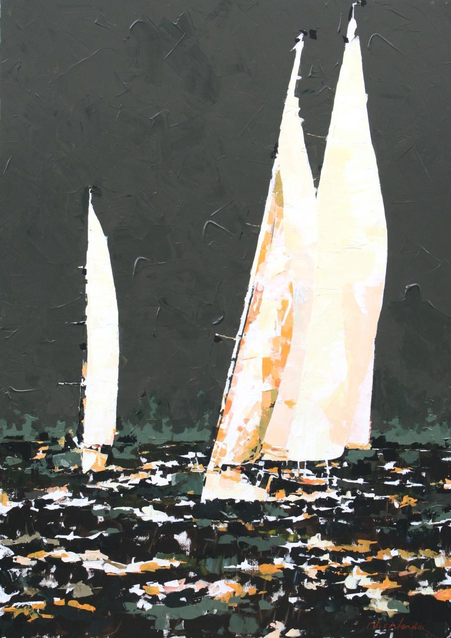 In de Wind (140x100 cm)