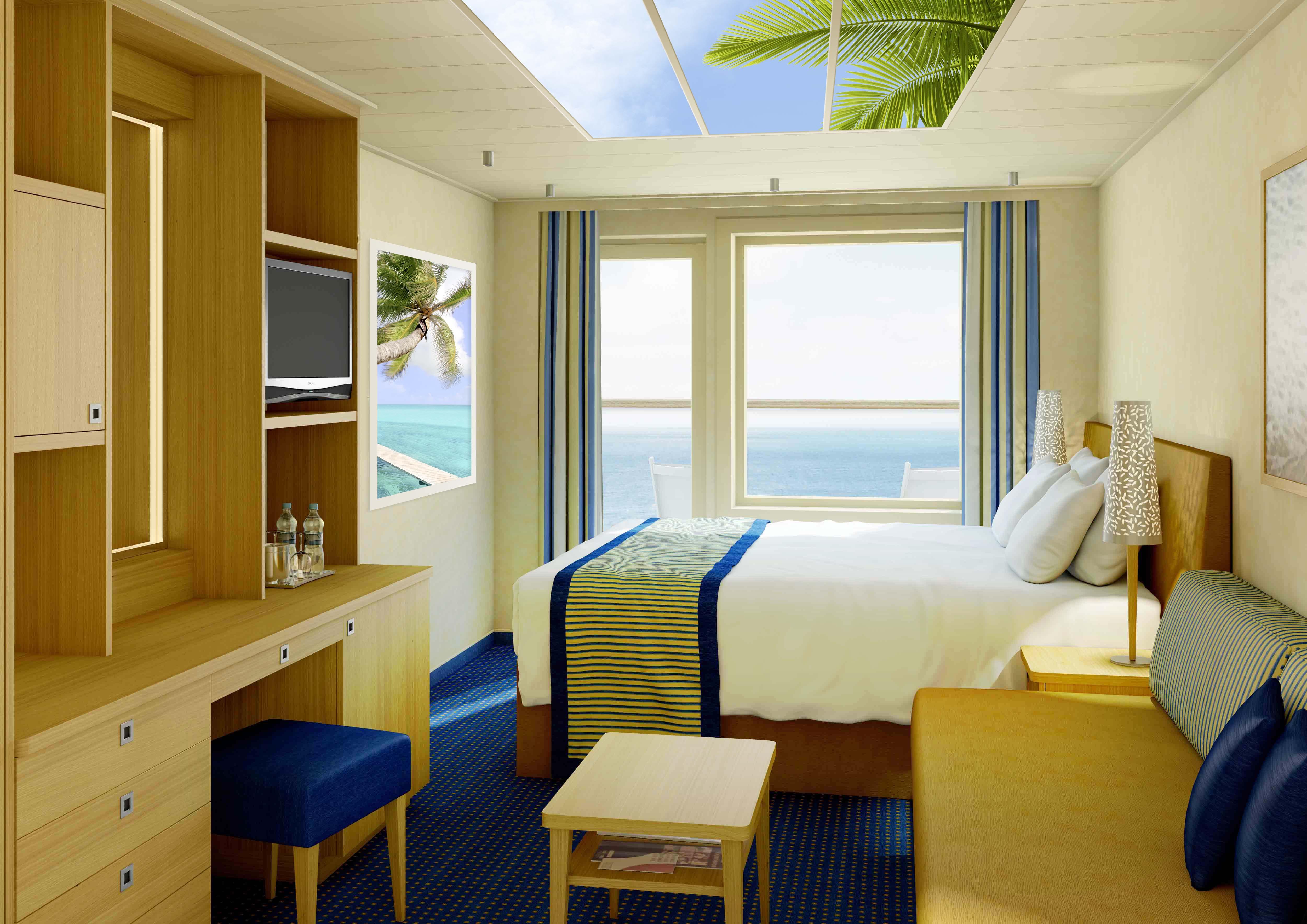 Passagiershut cruiseschip