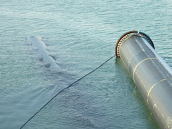 500m Pipeline salvage