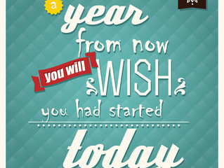 """Succeed with Your """"YEAR FROM NOW"""" GOAL"""