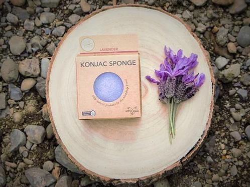 Lavender Konjac Sponge (for sensitive skin)