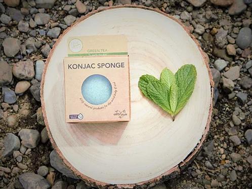 Green Tea Konjac Sponge (to purify skin)