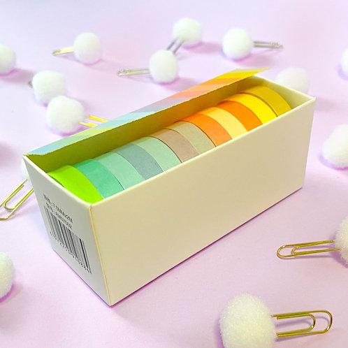 Washi Tape Colors