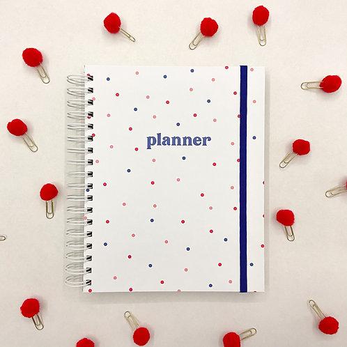 Planner Anual de Bolinhas