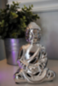 Buddha in our Post-Float Lounge