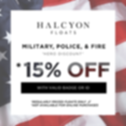 Military, Police and Fire Discount