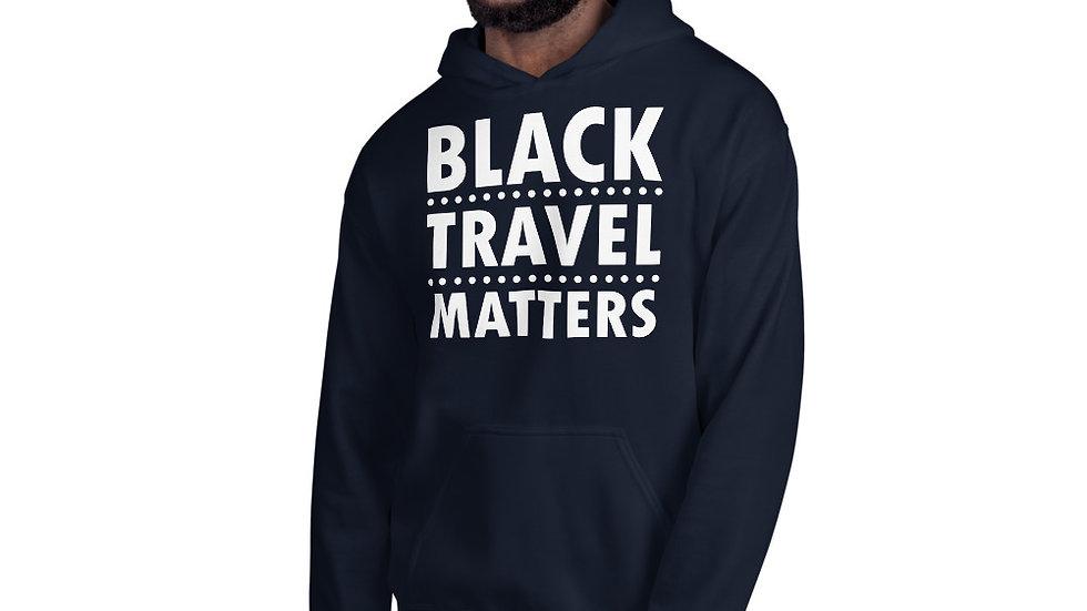 Black Travel Matters Unisex Hoodie