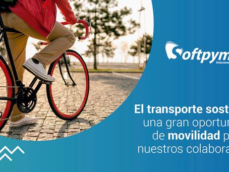 El transporte sostenible: una gran oportunidad de movilidad para nuestros colaboradores