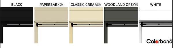 ziptrak colour options