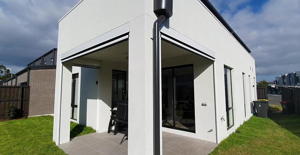 using ziptrak outdoor blinds