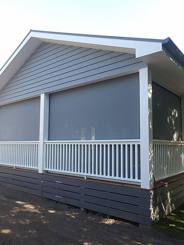 Ziptrak outdoor blinds, alfresco