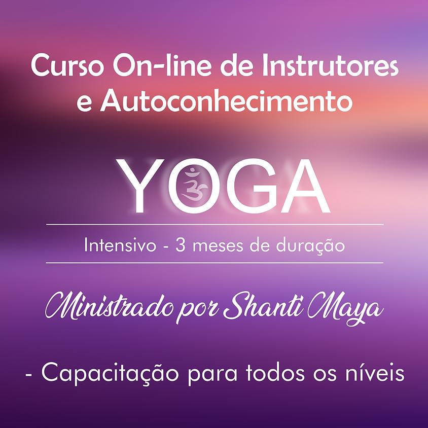 Início em Setembro- Curso de Instrutor de Yoga e Autoconhecimento