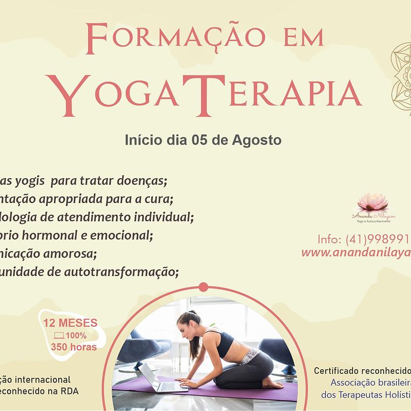 Treinamento em Yoga Terapia   e Autoconhecimento