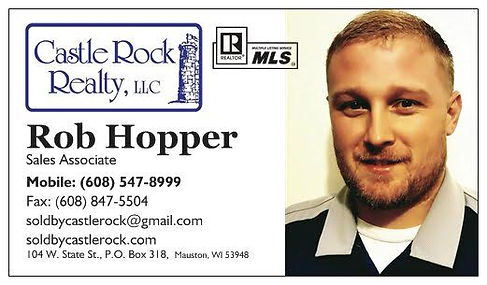 Rob Hopper Castle Rock Realty Mauston WI