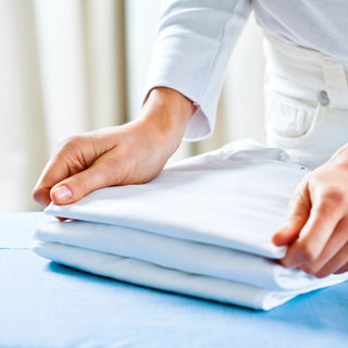 Folding strukna kläder