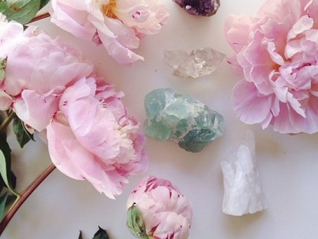 Healing with Flowers and Crystals