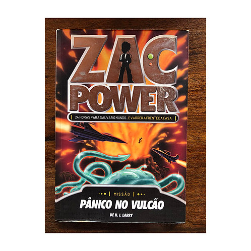 Zac Power - Pânico no Vulcão (gratuito - use código promocional)
