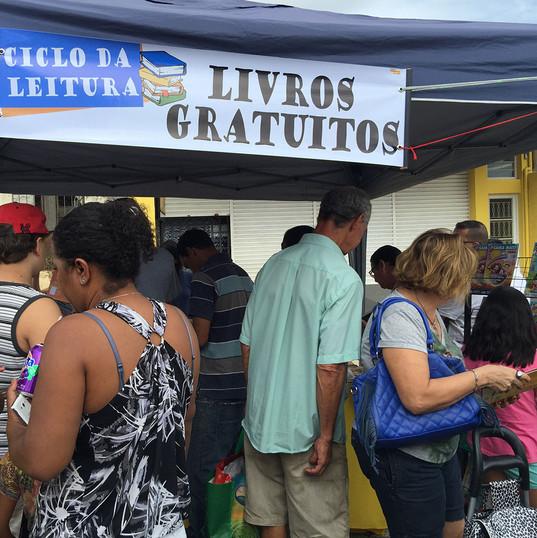 Ciclo da Leitura na Feira do Alvinópolis