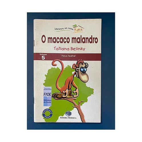O macaco malandro (gratuito - use código promocional)