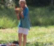 Patricia Sound with children