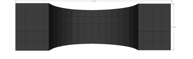 LED Curved Concave Backdrop
