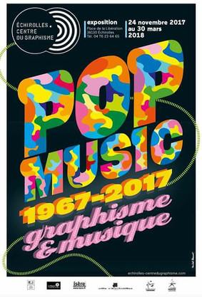 Pop Music 1967-2017 graphisme & musique