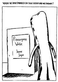 Raymond-Pettibon-Gumby-and-Finnegans-Wak