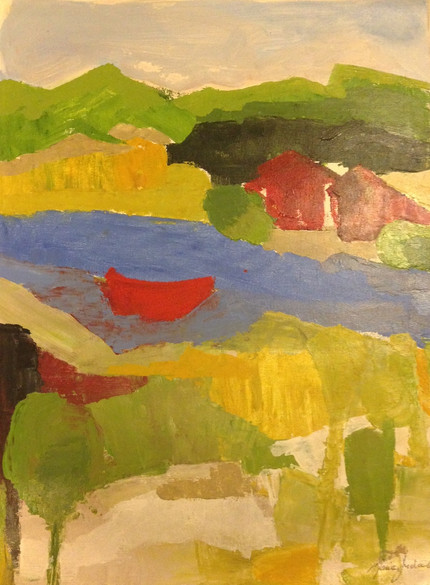 Paisagem com Barco     Landscape with Boat