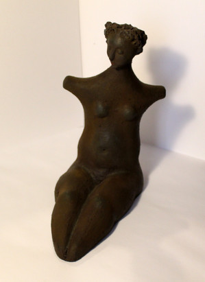 Body 1 - clay and iorn powder - 22x20x12
