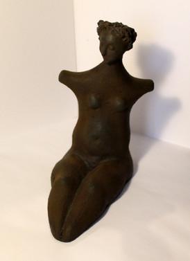 Body 1 - clay and iorn powder - 22x20x12