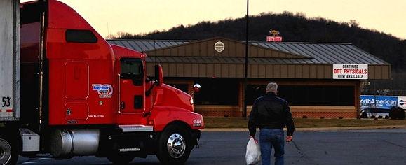 Virginia doctor tries truck stop medicin
