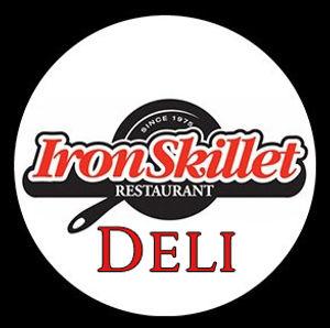 DELI_Iron Skillet Bubble_on black backgr