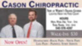 Cason Chiropractic_Interior Screen Ad_Ja