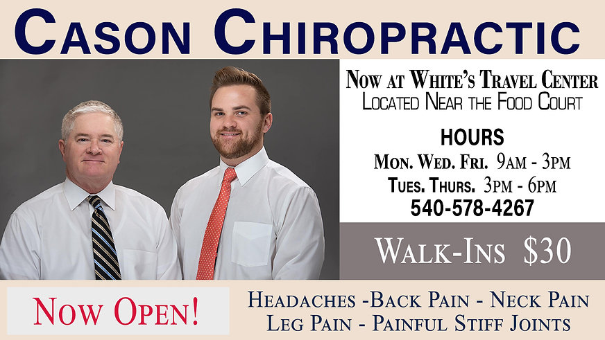 Cason Chiropractic_Interior Screen Ad_Ja