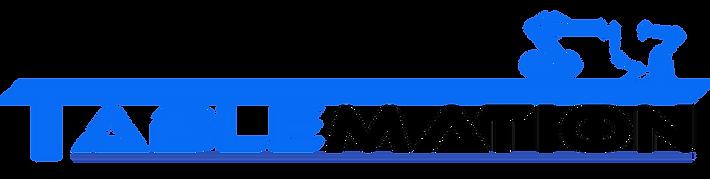 Tablemation Logo - Blue - ROBOT1 01.11.2