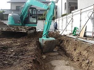 土工事(掘削)