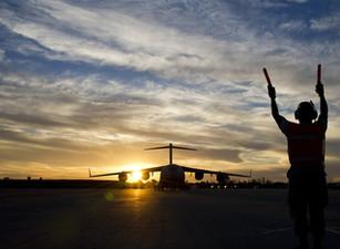 As aéreas voam para a recuperação