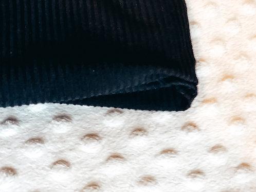 Blackrock Ribbed Mini Blankie