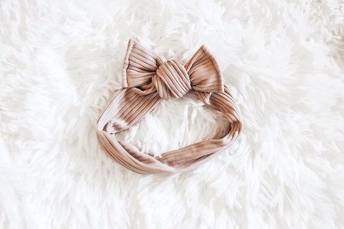 Fawn Tie On Headwrap
