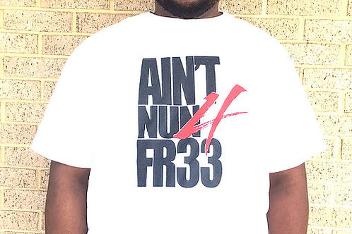 Aint Nun 4 Fr33 White Short Sleeve