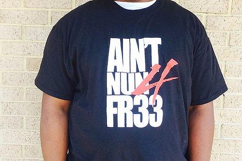Aint Nun 4 Fr33 Black Short Sleeve
