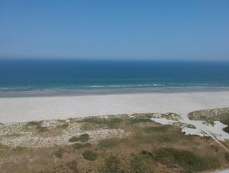 Strand Nes van boven