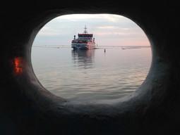 Aankomst Veerboot